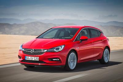Νέο Opel Astra