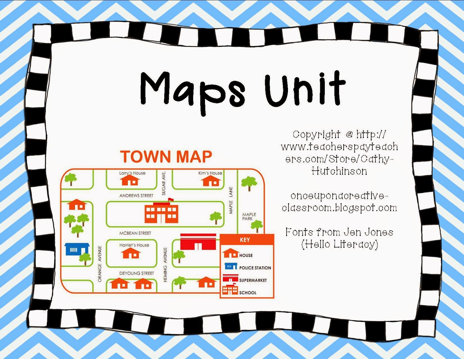http://www.teacherspayteachers.com/Product/Maps-Unit-Perfect-for-Early-Elementary-572877