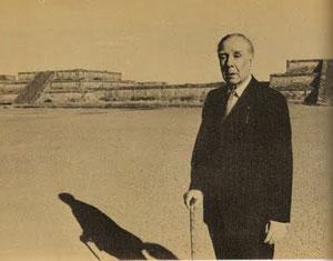 Llega Jorge Luis Borges al Palacio de Bellas Artes