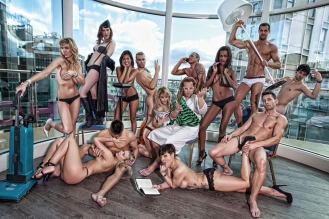 gran hermano hombres desnudos: