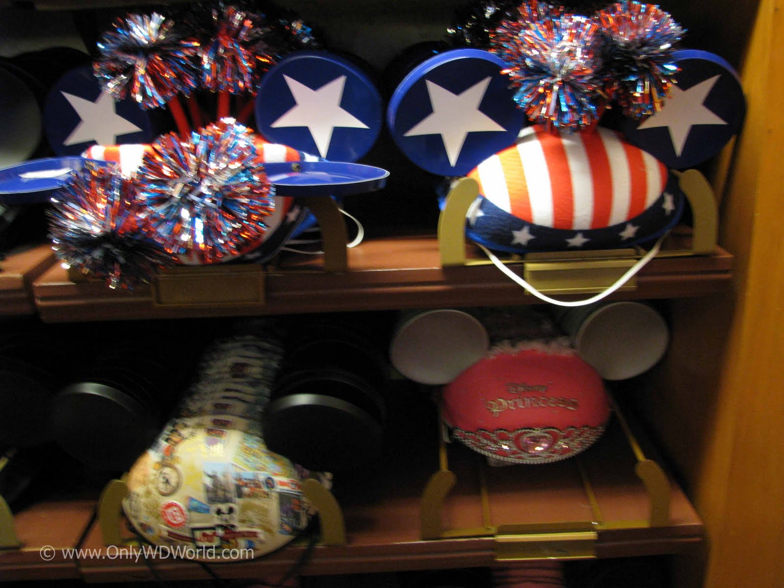 The Mouse Ear Hats Are Their