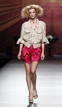 Alma Aguilar Cibeles Madrid Fashion Week otoño invierno 2011 2012