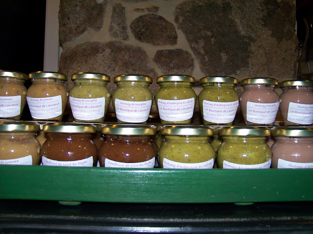 ma collection de chutney