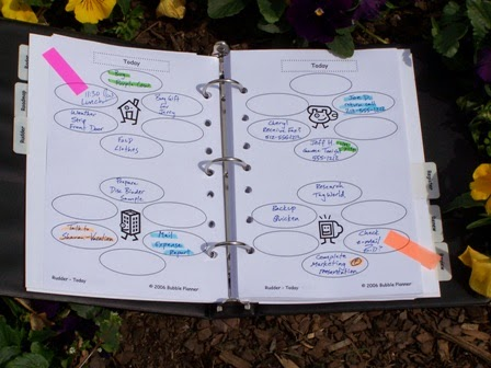 picture relating to Diy Daily Planner known as Primary Bubble Do-it-yourself Planner pdf Bubble Planner
