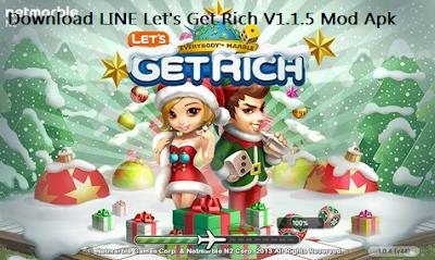 Download LINE Let's Get Rich V1.1.5 Mod Apk