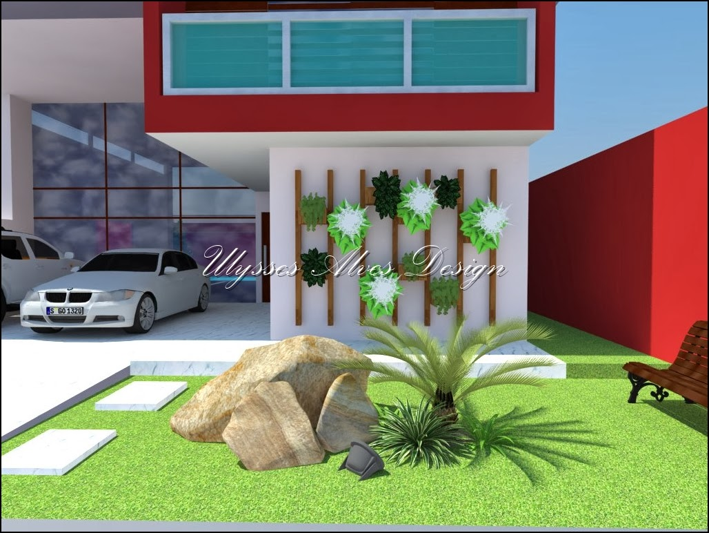 Ulysses alves design casa moderna 1 for Casa moderna 2014 espositori
