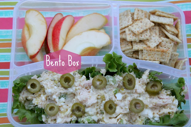 Creamy Chicken Salad Bento Box
