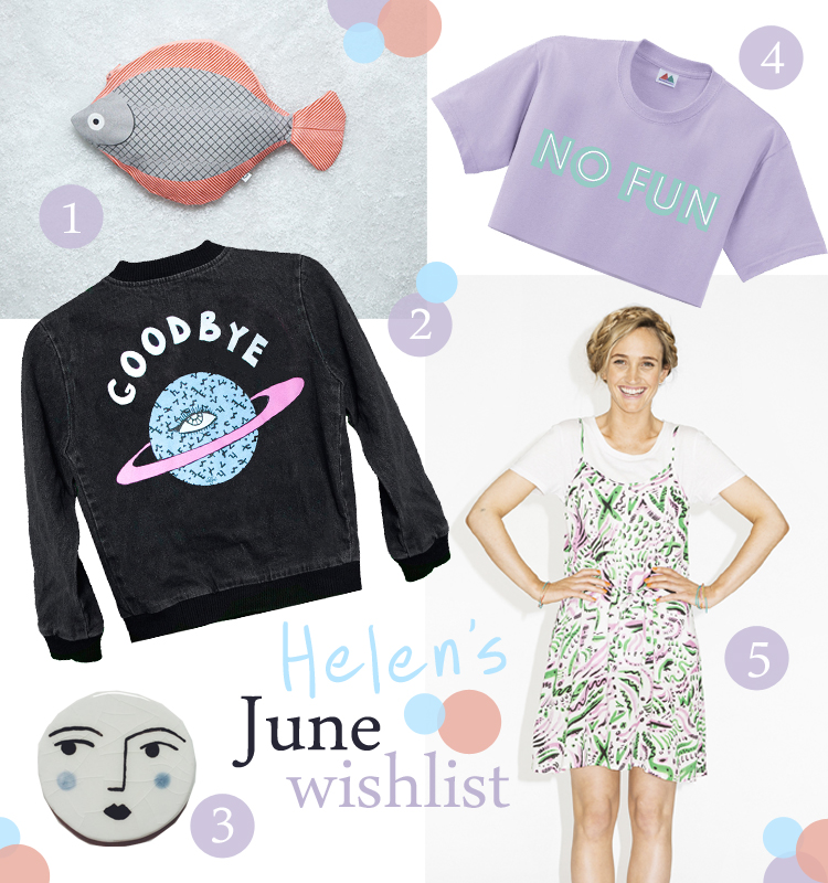 June Wishlist, wishlist, favourite things, blogging duo, scottish blogging duo, Valfre, Goodbye denim jacket, Don Fisher fish case, Monki, #monkistyle, Merrimaking No Fun crop top, luna brooch by Zodiac and Zephyr