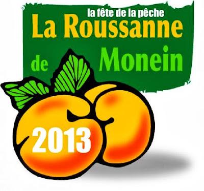 La fête de la pêche Roussanne 2013