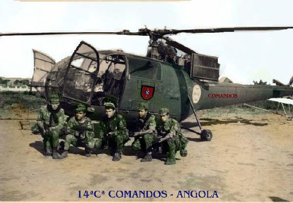 12c8b92122170 Forças Especiais - Comandos Portugueses