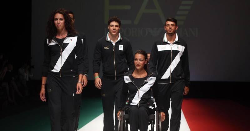 VISTO DAL basso : SPORT Le divise per Rio 2016 con un...7 troppo invadente. E dove è finito l ...
