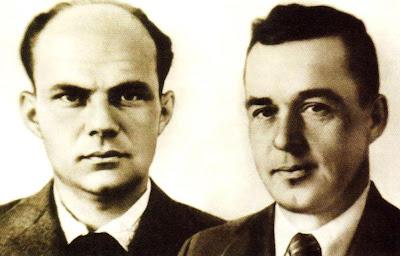 Александр Яковлевич Березняк и Алексей Михайлович Исаев.