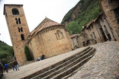 Sant Cristòfol de Beget romanesque church