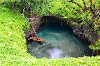 Kolam Renang Semula Jadi Di Samoa