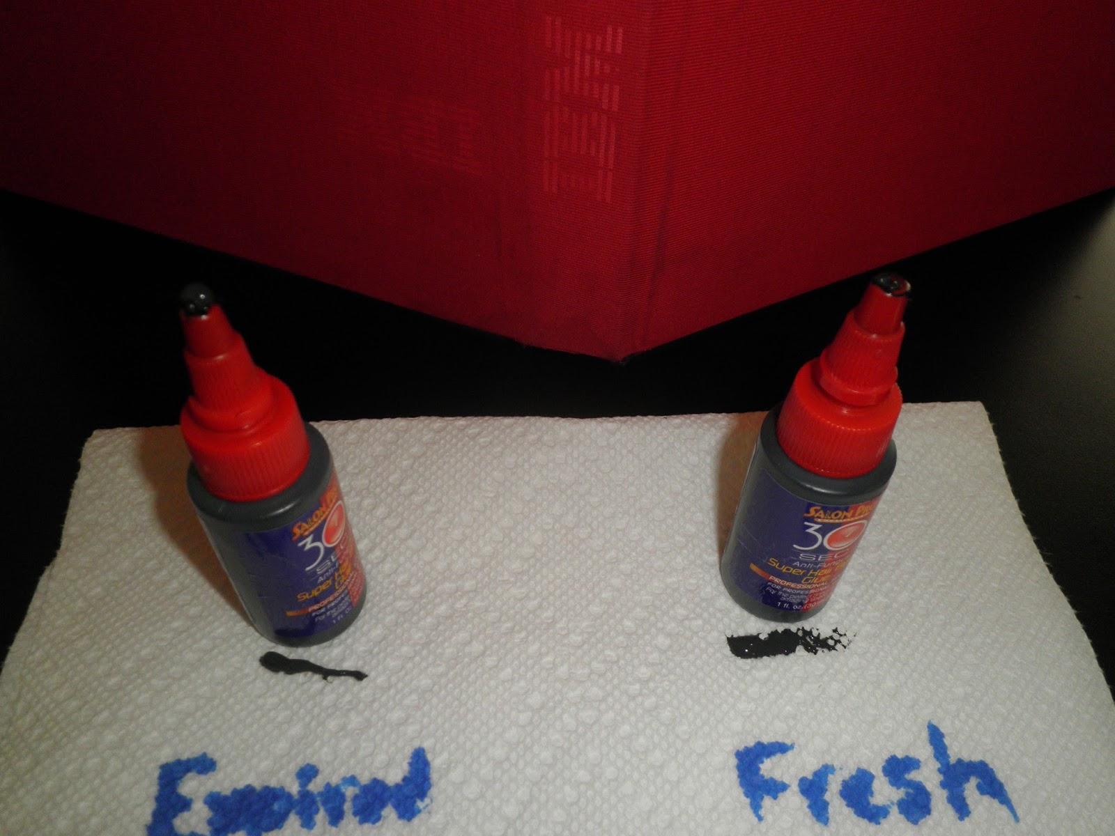 PhenomenalhairCare Identifying Expired Bonding Glue