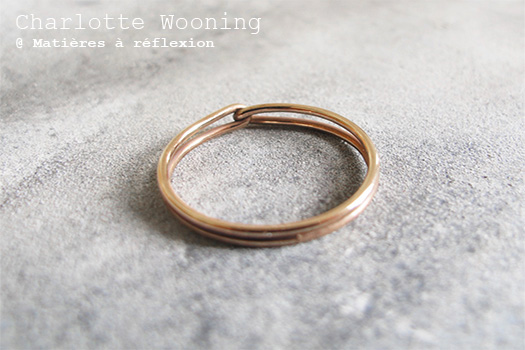 Bague intemporelle Charlotte Wooning