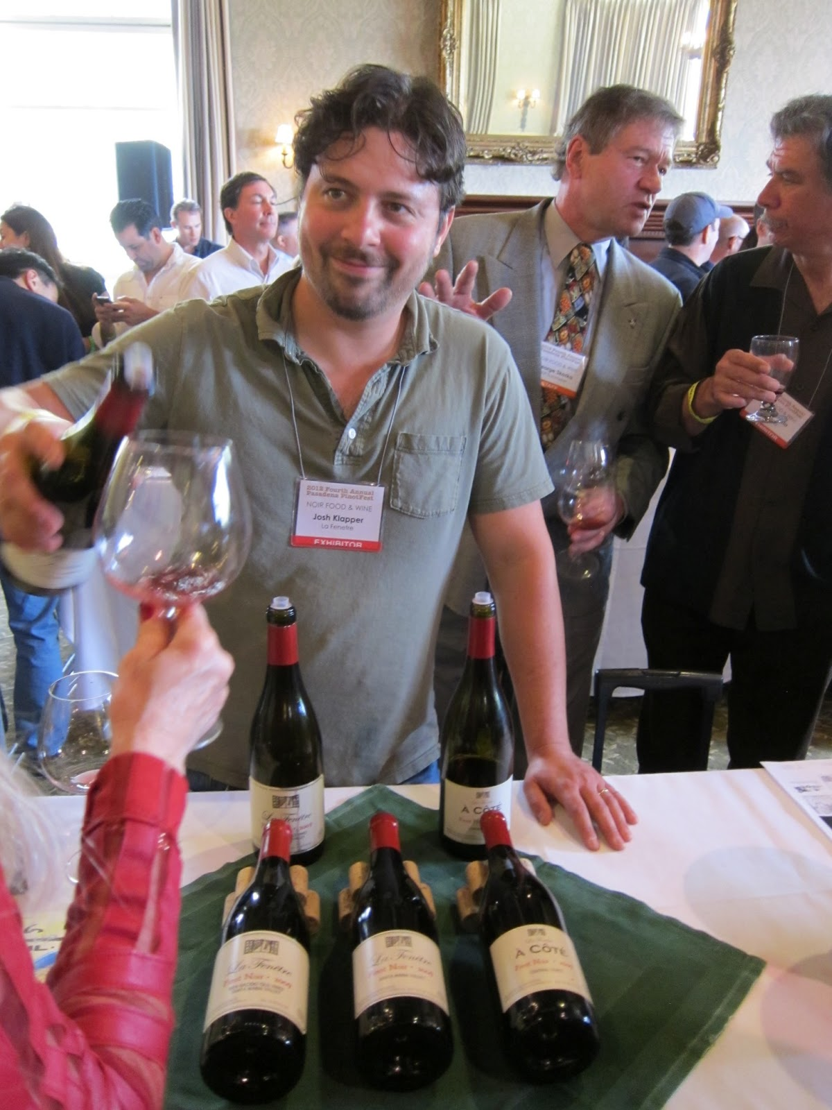 Gourmet pigs pasadena pinotfest returns feb 9 for La fenetre wine