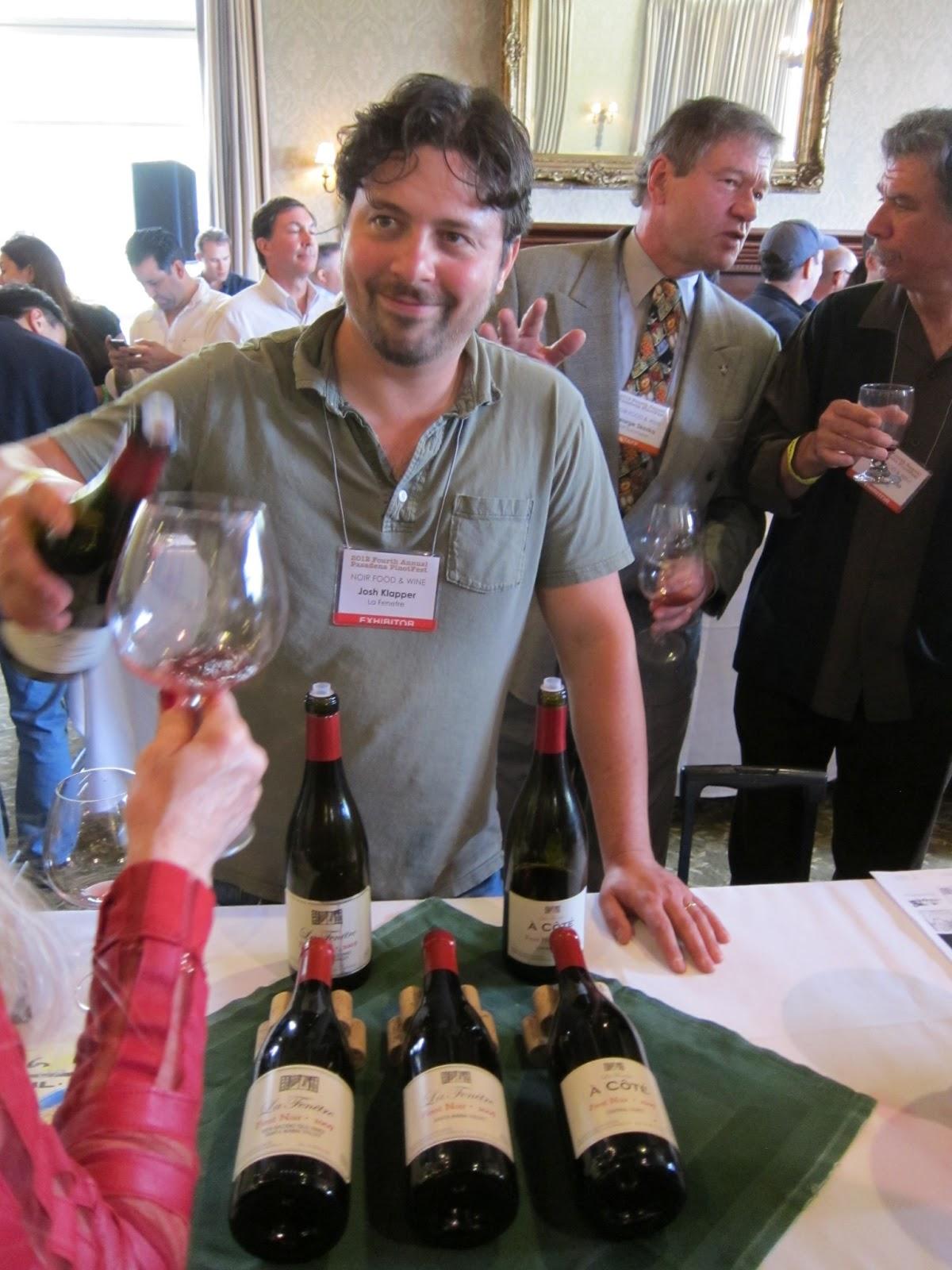 Gourmet pigs pasadena pinotfest returns feb 9 for La fenetre wine