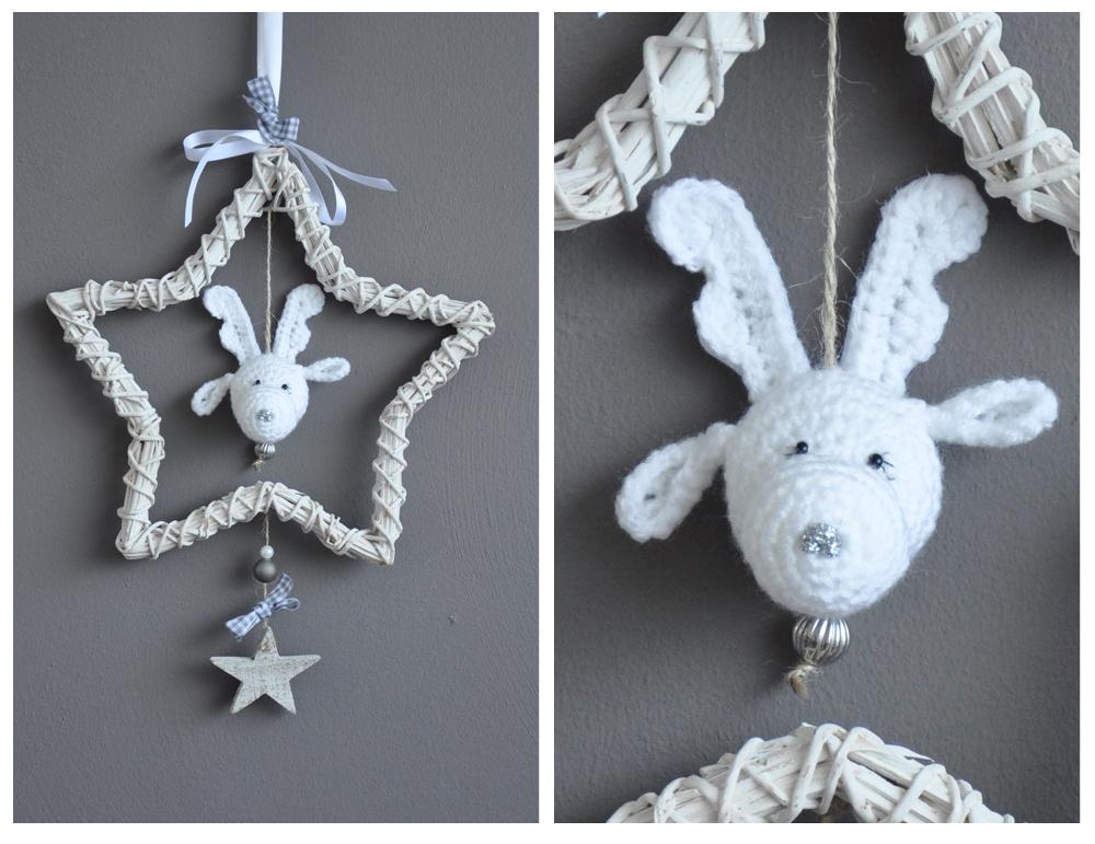 Ook leuk voor in de kerstboom misschien?!?!?Zo'n rendier hoofdje ...: haakmaaraan.blogspot.com/2012/11/little-rudolph.html