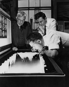 an analysis of the weather modification in 1946 by vincent schaefer Cloud seeding as we know it today got its start in 1946 when dr vincent j  schaefer,  during one experiment, schaefer thought the chamber was too warm  and placed  (34) water for texas: summary of the 2011 regional water plans.