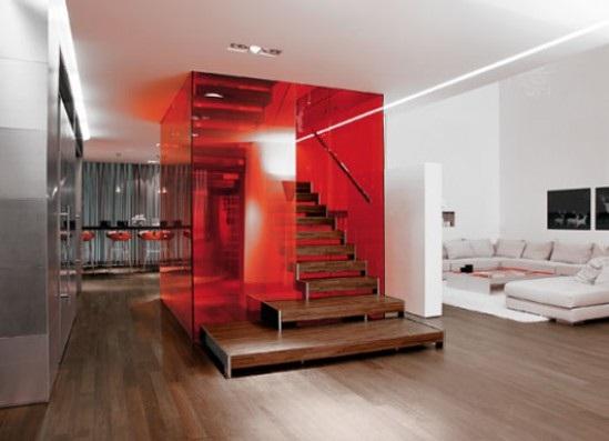 decora y disena apartamento en blanco con acentos en color rojo. Black Bedroom Furniture Sets. Home Design Ideas