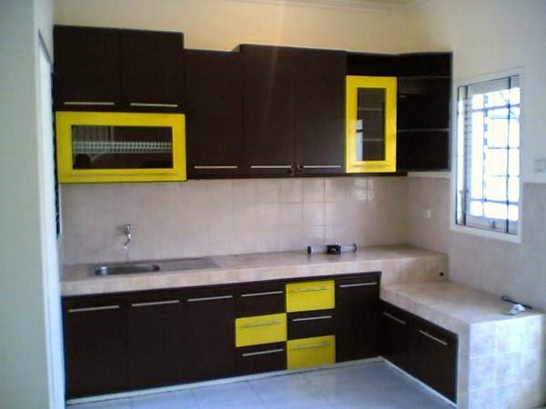 kumpulan foto kitchen set minimalis murah sederhana