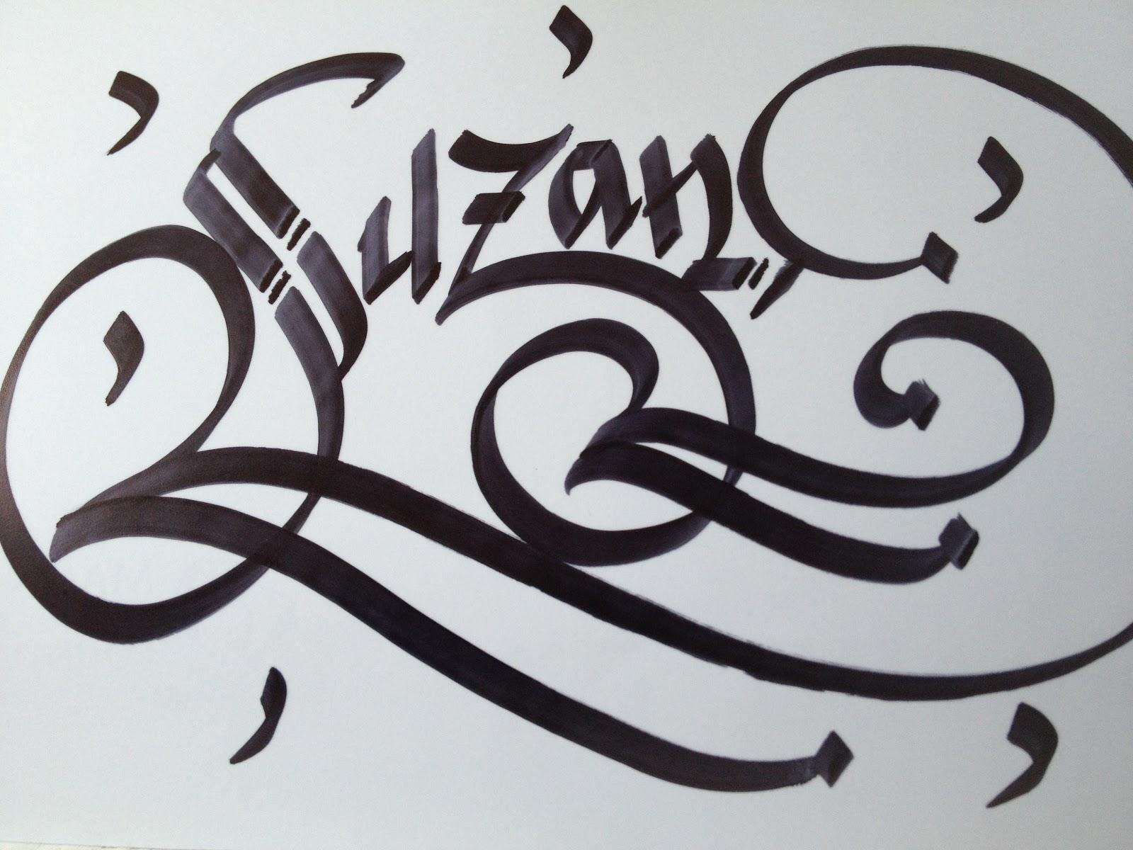 Calligraphy art girl names in jennifer