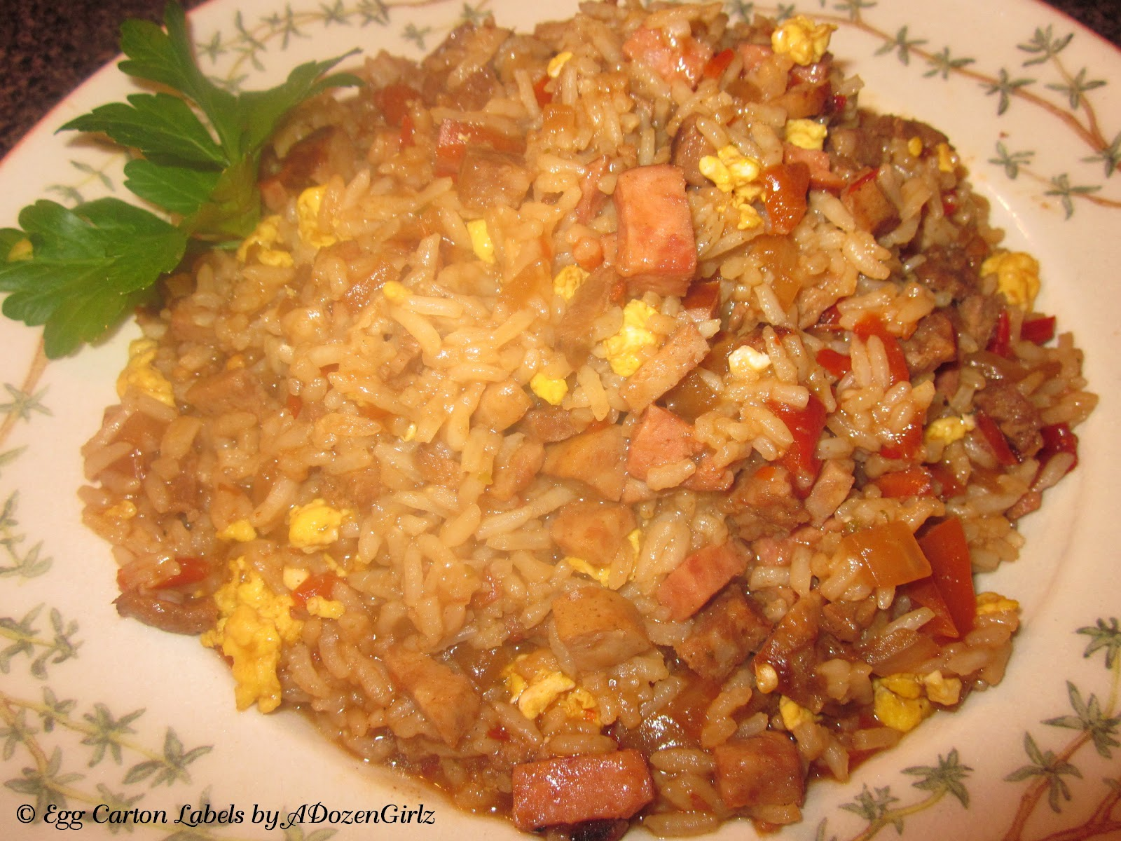 Dirty Rice with Scrambled Eggs