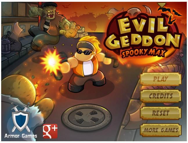 Armor Game : Evilgeddon Spooky Max