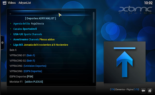 ADRYANLIST 1.9.3 KODI XBMC