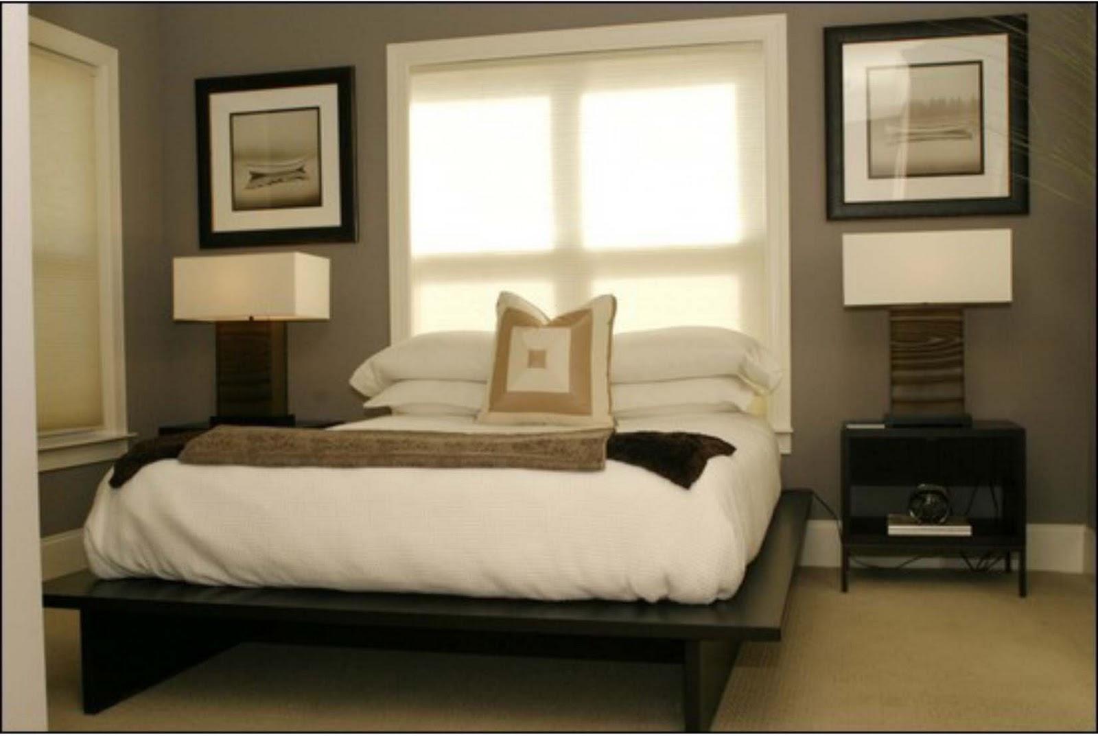 Дизайн окна в маленькой спальне