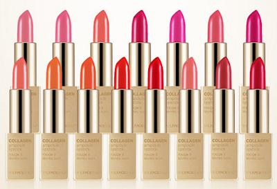 The Face Shop Collagen Ampoule Lipsticks