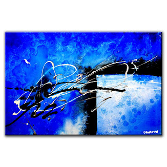 PAINTING OF THE DAY - ABSTRACT DIMENSTIONS