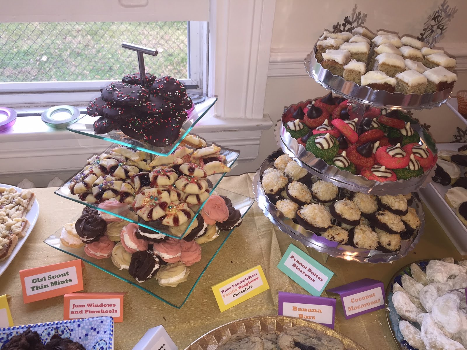 Image result for girl scout cookies tiered stand