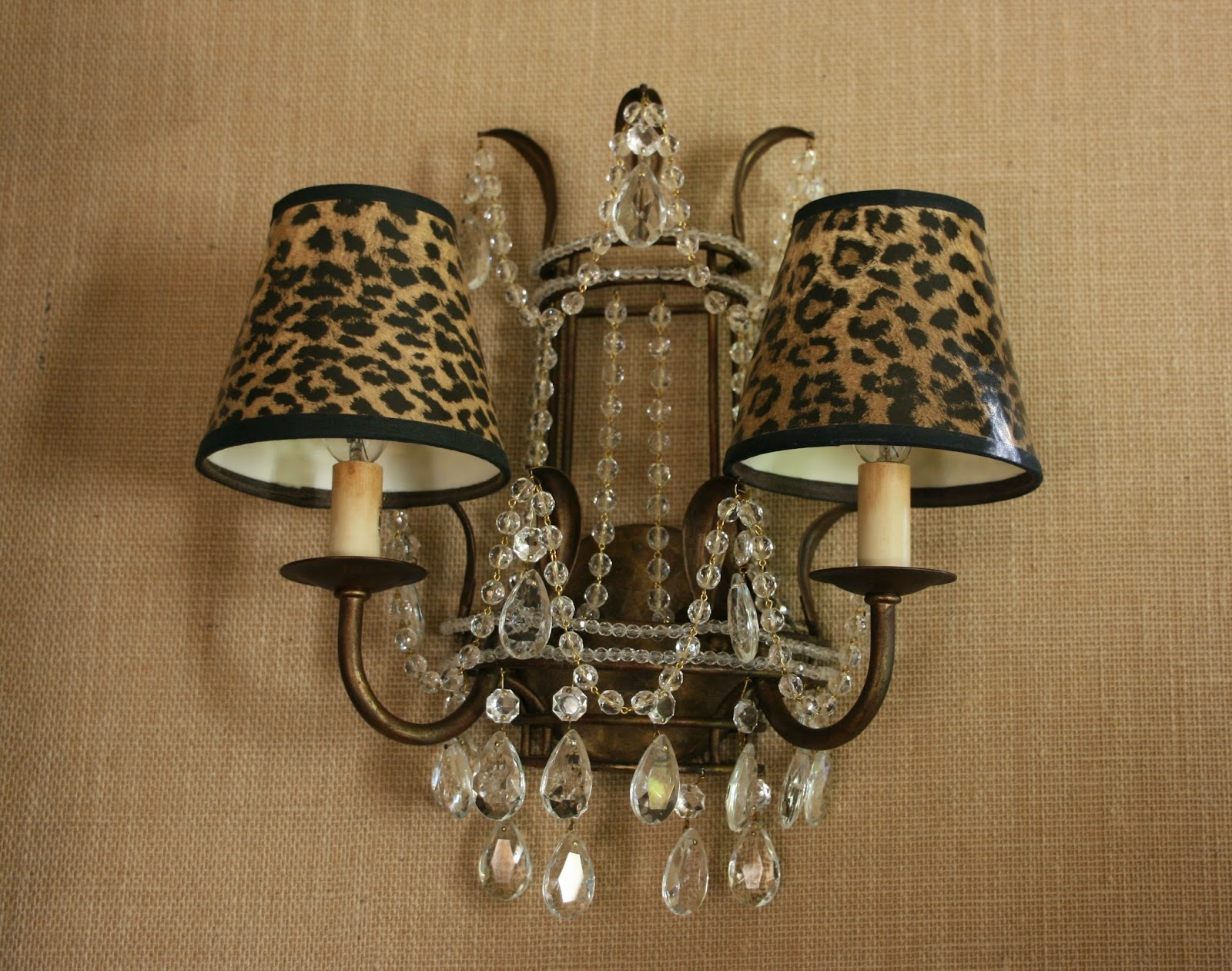 vignette design Long Live Classic Decor Leopard Prints