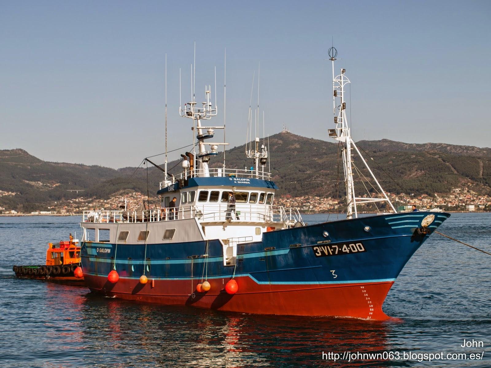 fotos de barcos, imagenes de barcos, o galopin, pesquero, espadero, a guarda, vigo