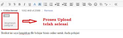 Cara Mengirim File Lewat E-mail