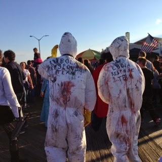 NJ zombie walk 2014