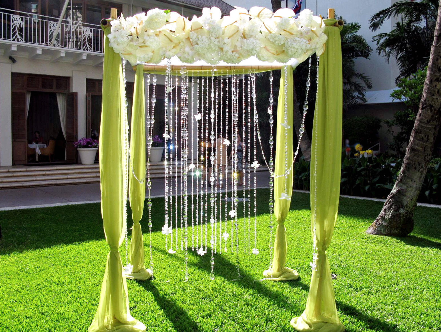 Wedding arches romantic decoration for Arches decoration ideas