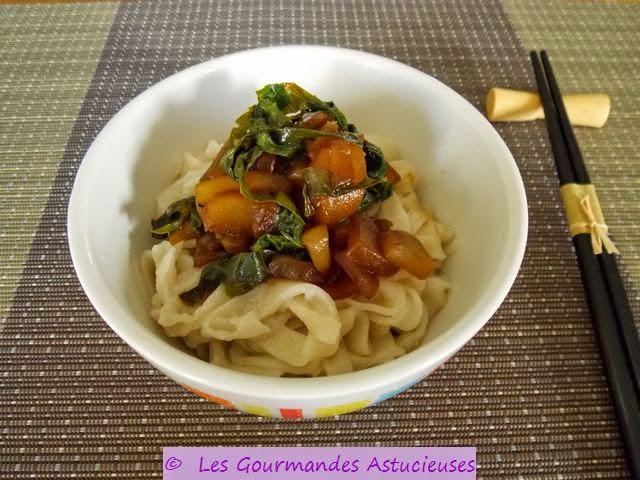 Les gourmandes astucieuses cuisine v g tarienne bio - Comment cuisiner des nouilles chinoises ...