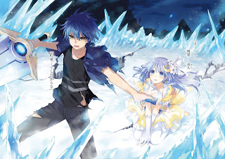 Date A Live  Shido Itsuka Miku Izayoi Anime Sword Ice Frozen Field HD Wallpaper Desktop Background