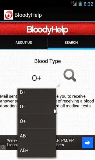 bloodyhelp android health app for blood donations