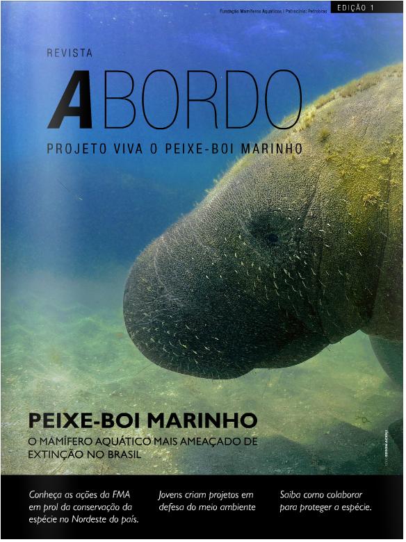 Revista A Bordo - Projeto Viva o Peixe-Boi Marinho