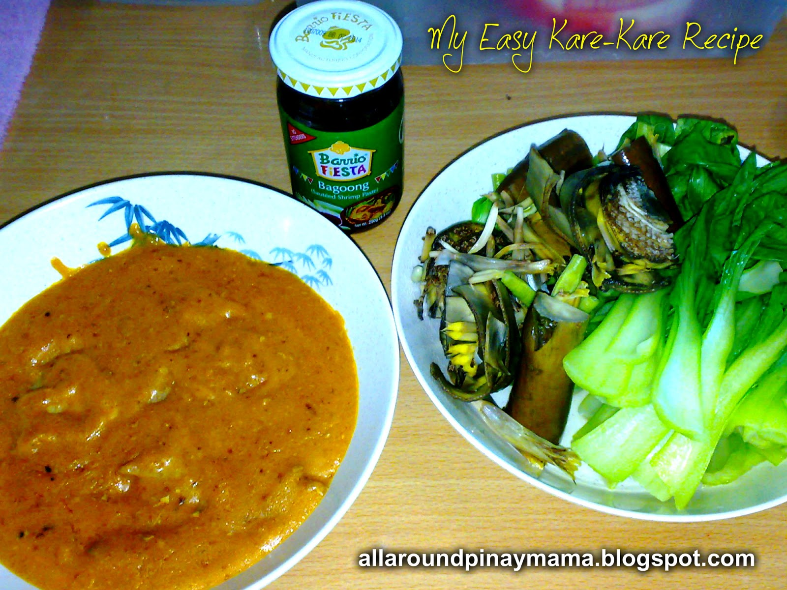 how to cook kare kare with mama sita