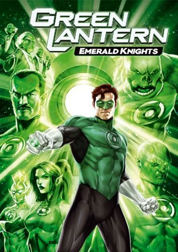 Green Lantern Emerald Knights DVDRip Latino