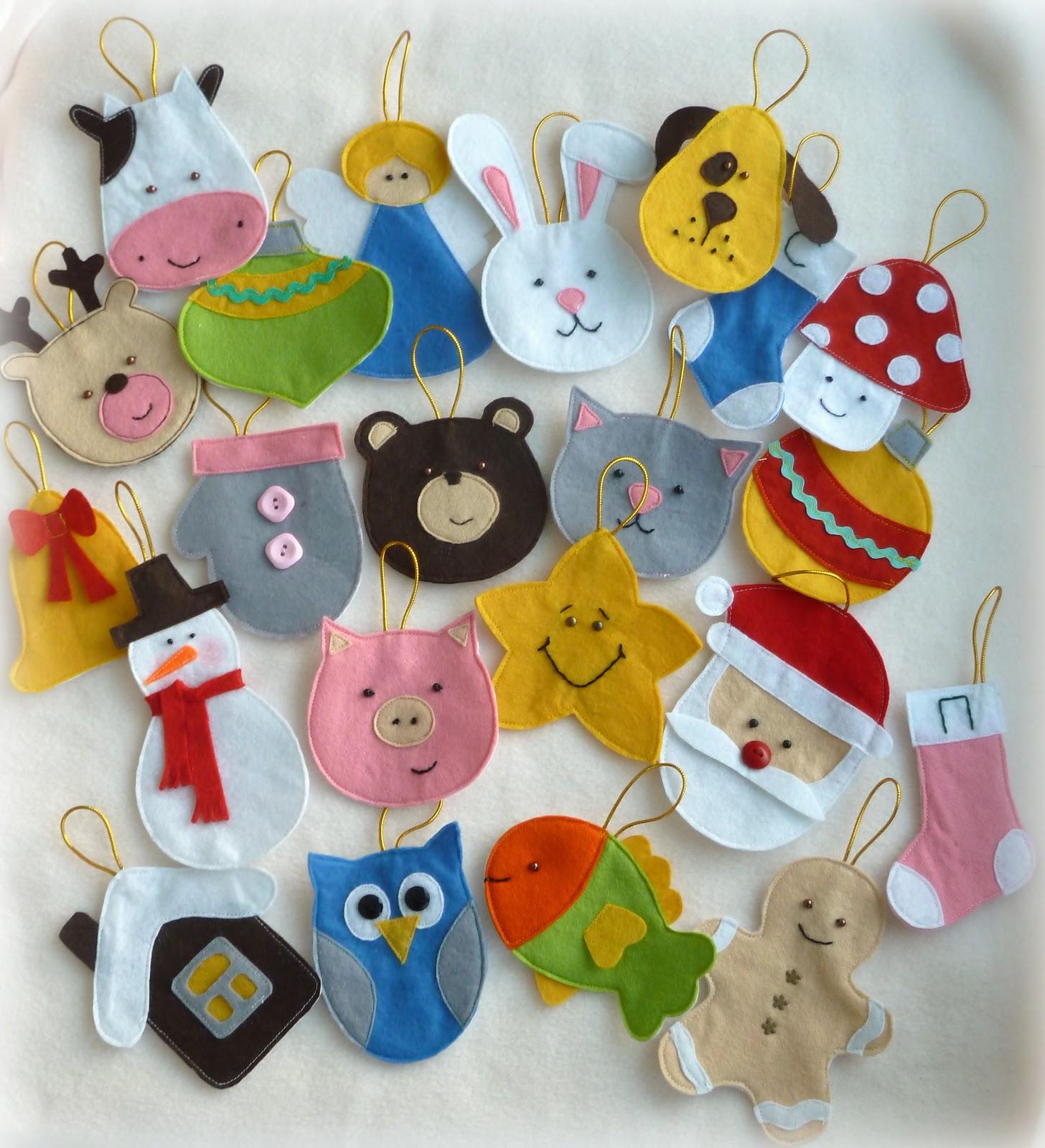 Красивые игрушки своими руками из фетра 124