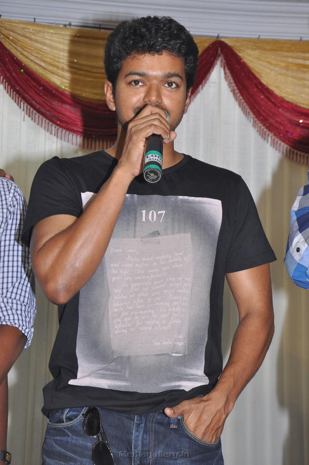 vijay new photos thalapathy anthem launch