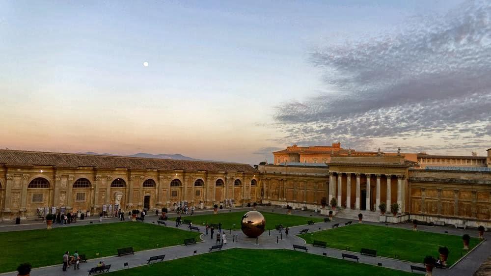 Chi viaggia impara immagini dal mondo citt del vaticano for Sauna del cortile chiavi