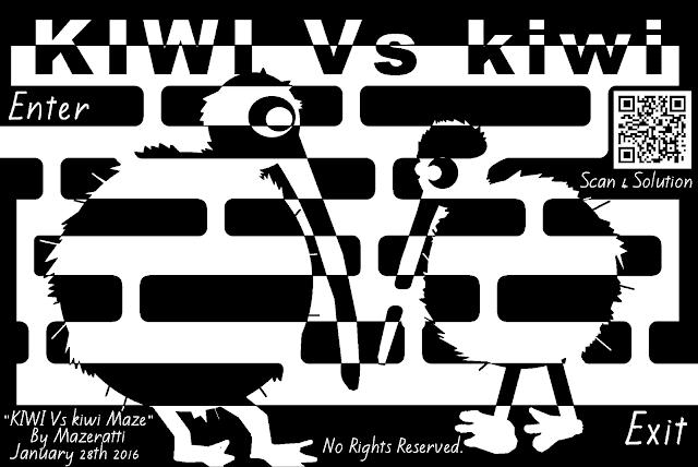 Kiwi VS Kiwi Maze