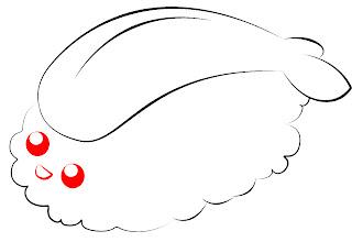 How To Draw Kawaii Sushi Step 9